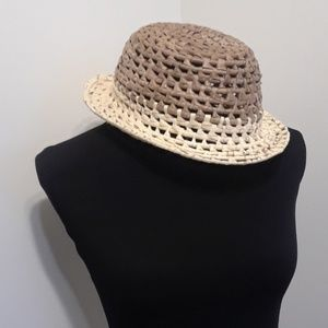 Other - 50% OFF ONE OF A KIND 2 Tone Fedora Straw Hat